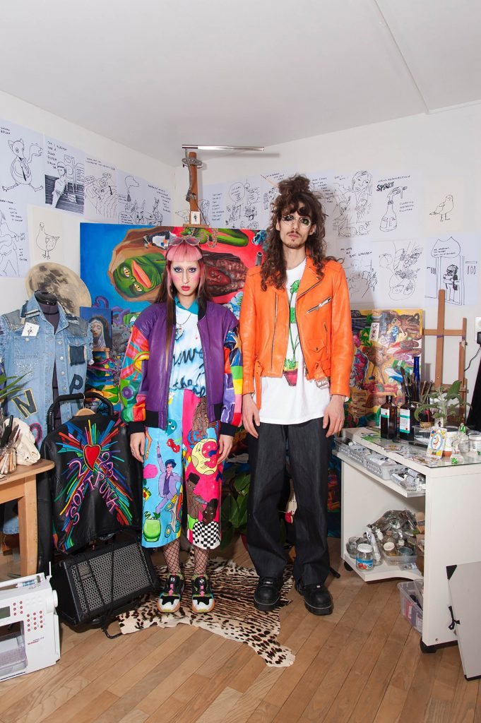 Who we are? Portrait of TBC duo in their studio space