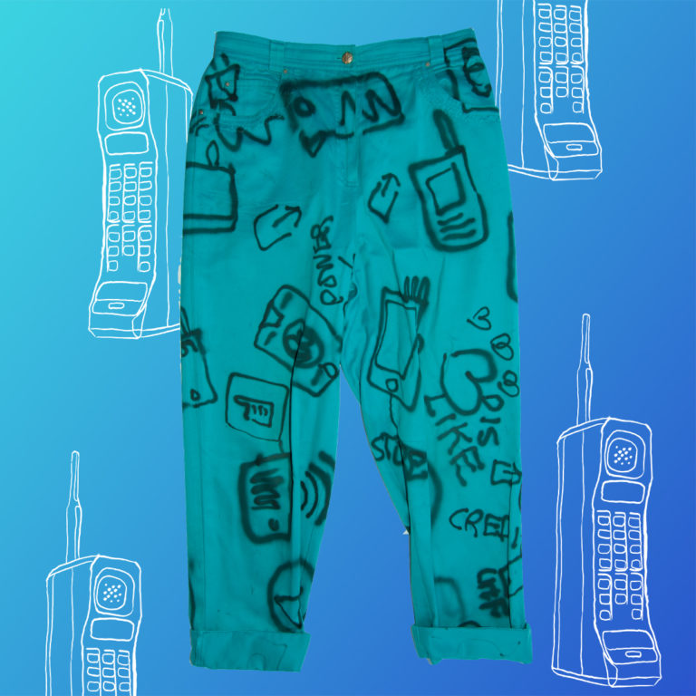 Social Phony Pant front_flat_product